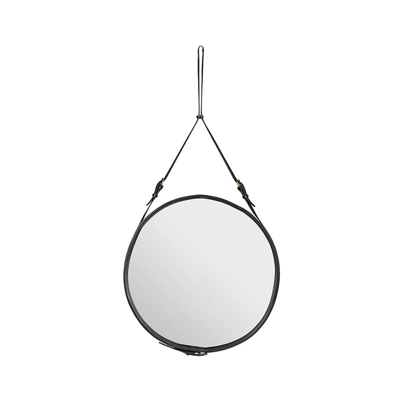 Gubi Adnet Circular Wall Mirror by Jacques Adnet Olson and Baker - Designer & Contemporary Sofas, Furniture - Olson and Baker showcases original designs from authentic, designer brands. Buy contemporary furniture, lighting, storage, sofas & chairs at Olson + Baker.