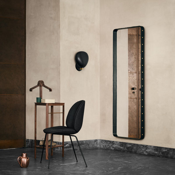 Adnet Rectangular Wall Mirror