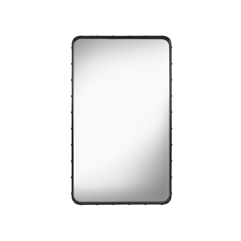 Gubi Adnet Rectangular Wall Mirror by Jacques Adnet