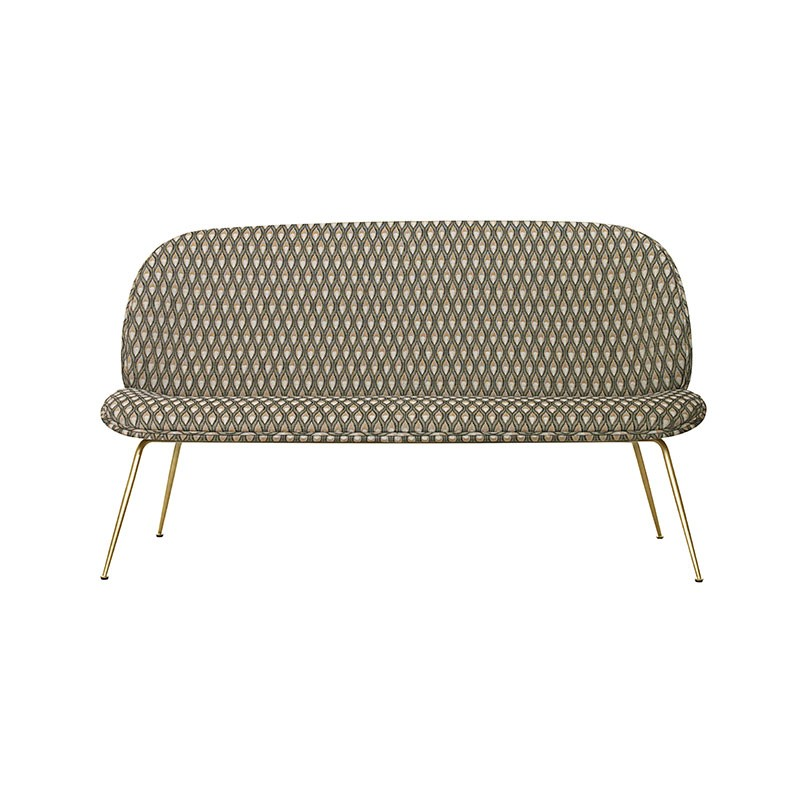 Gubi Beetle Two Seat Sofa by GamFratesi
