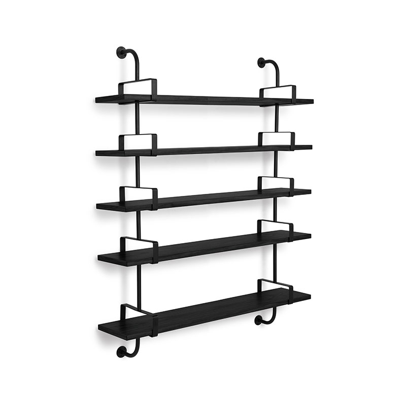 Gubi Demon Five Rack Shelf by Mathieu Mategot