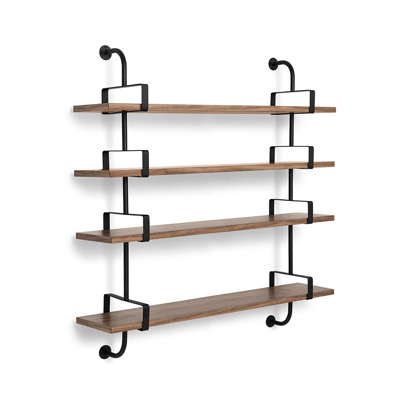 Gubi Demon Four Rack Shelf by Mathieu Mategot