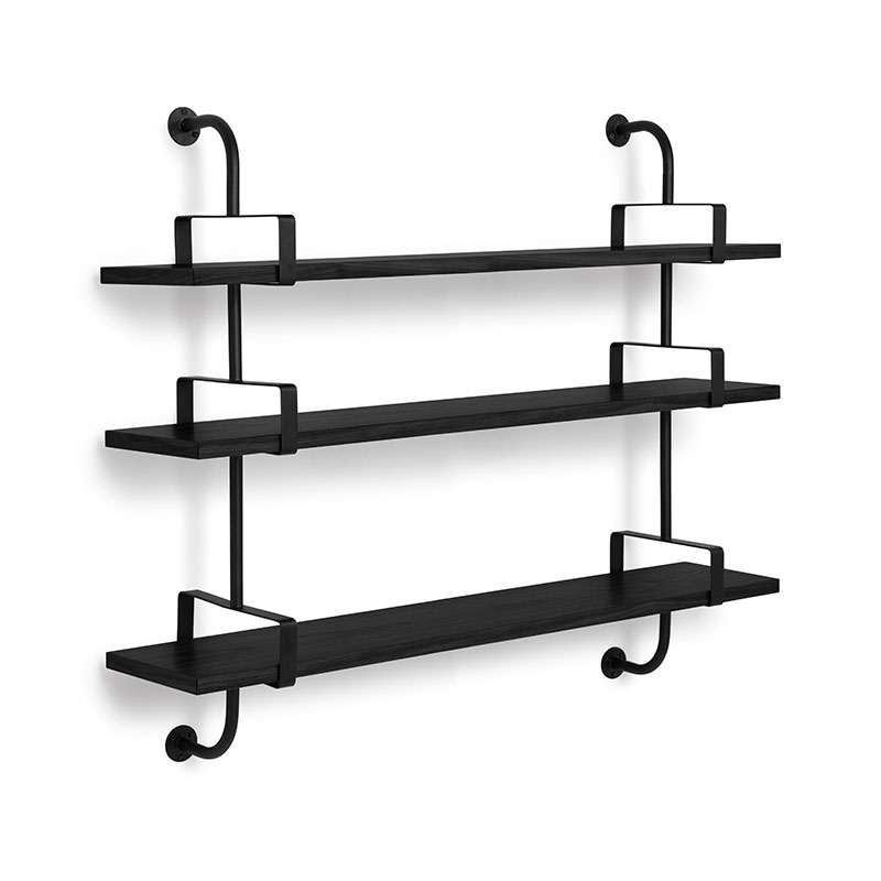 Gubi Demon Three Rack Shelf by Mathieu Mategot