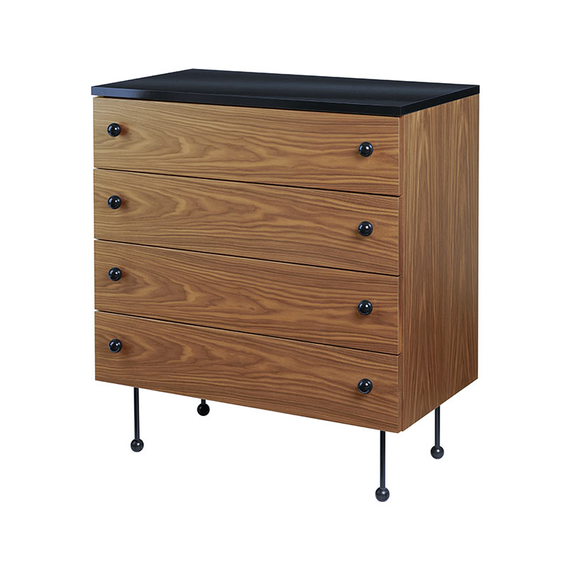 Gubi Grossman 62 Chest of Four Drawers by Greta M. Grossman