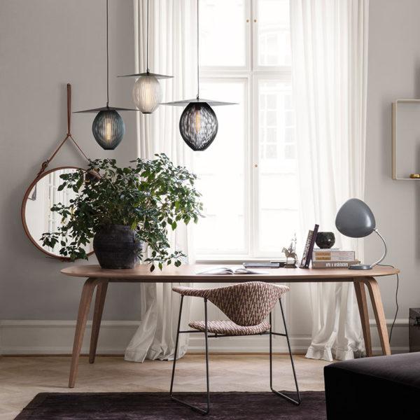 Komplot Elliptical 100x200cm Oval Dining Table