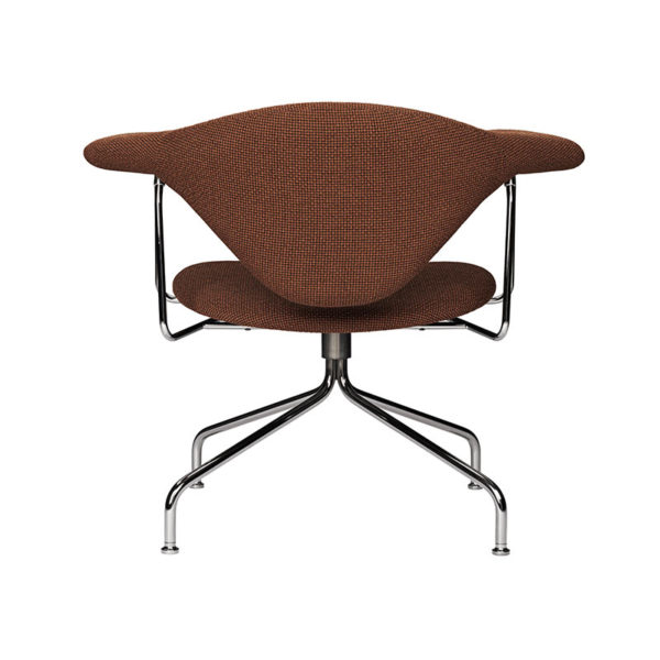 Masculo Lounge Chair with Swivel Base