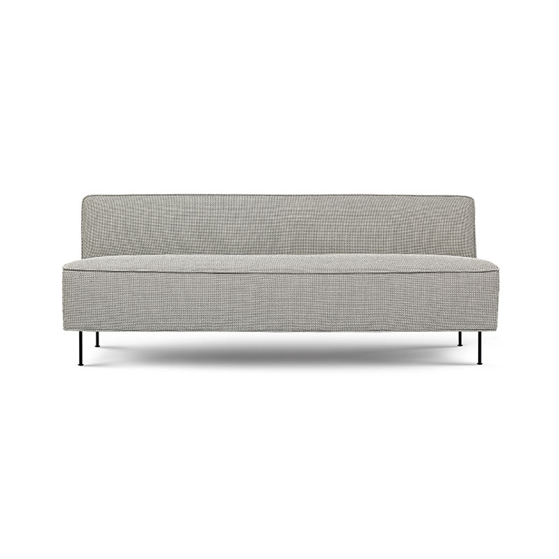 Gubi Modern Line Two Seat Sofa by Greta M. Grossman