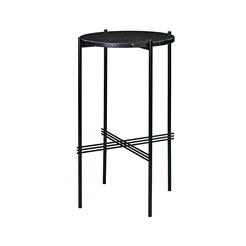 Gubi TS Round Ø40cm High Side Table by GamFratesi