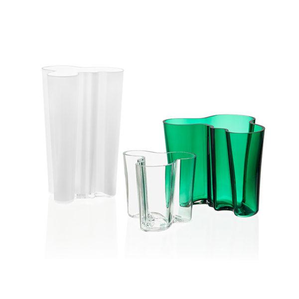 Aalto 201mm Glass Vase