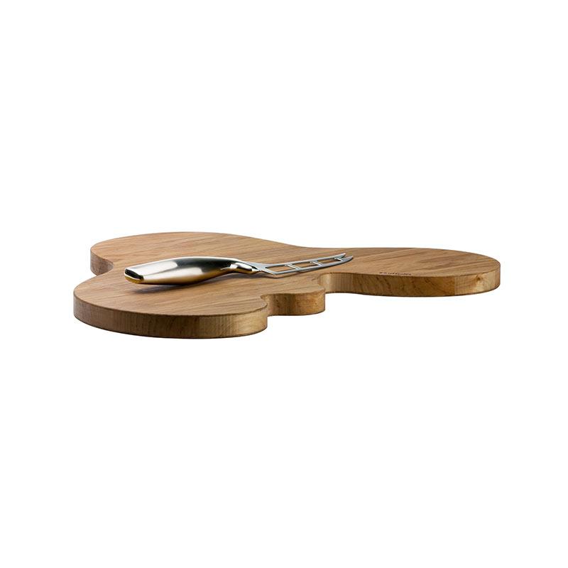 Iittala Aalto 355 x 436mm Oak Serving Platter by Alvar Aalto