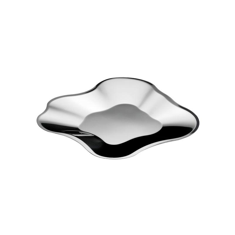 Iittala Aalto 504mm Stainless Steel Bowl by Alvar Aalto