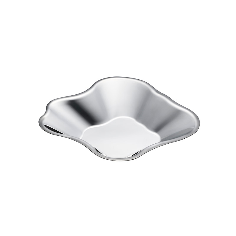 Iittala Aalto 60 x 358mm Stainless Steel Bowl by Alvar Aalto