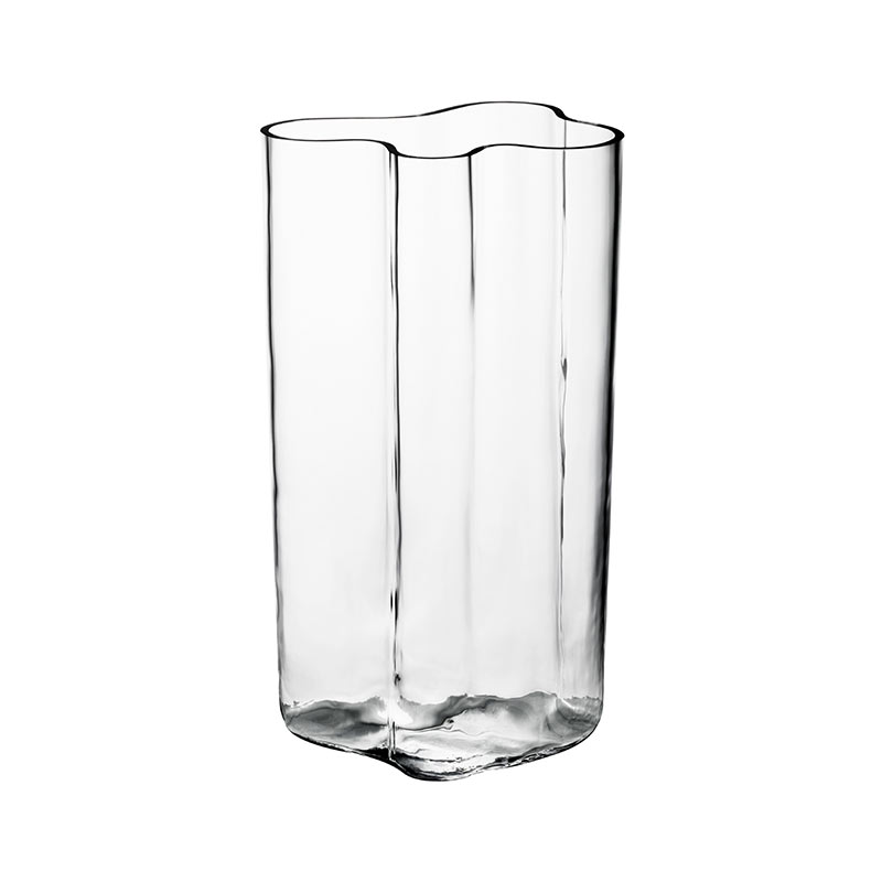 Iittala Aalto 600mm Vase - Blown into Wooden Mould by Alvar Aalto