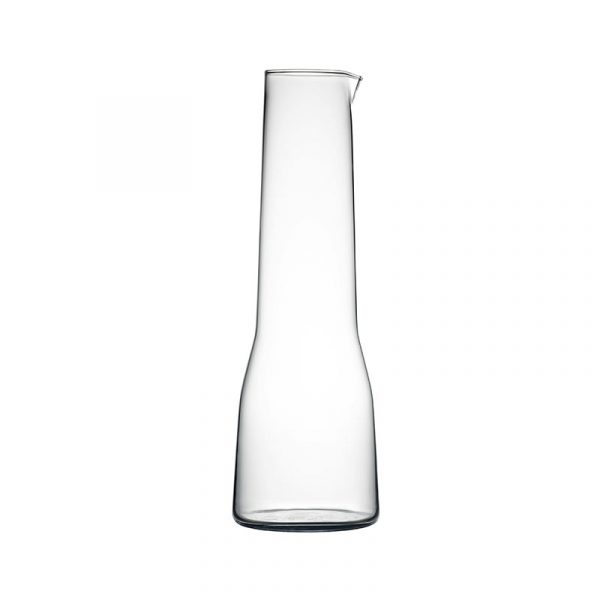 Iittala Essence 1.0L Glass Carafe by Alfredo Häberli