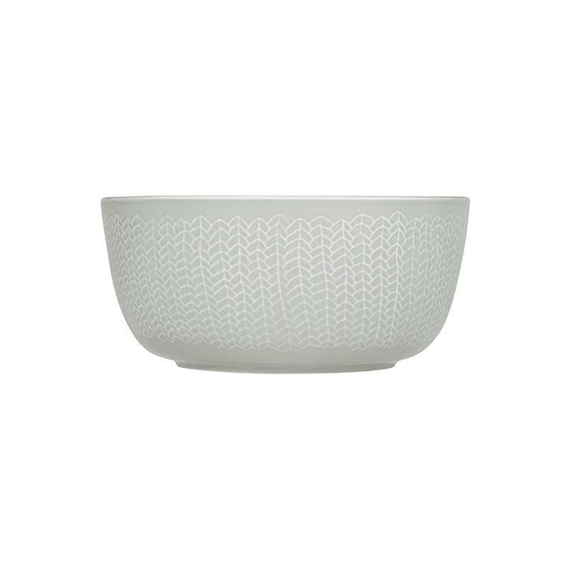 Iittala Sarjaton Pearl Grey 0.68L Letti Bowl - Set of Six by Harri Koskinen, Musuta