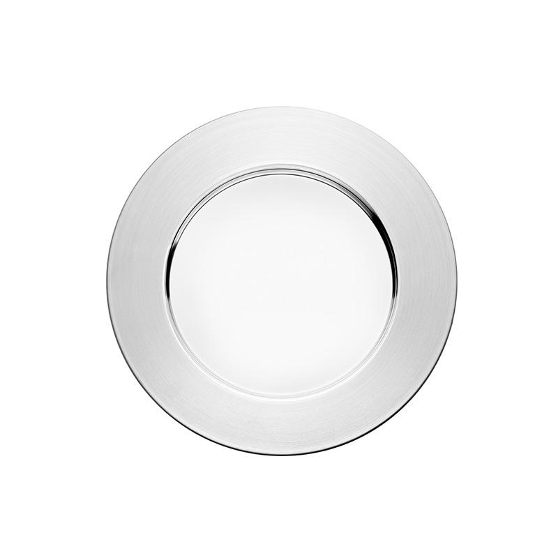 Iittala Sarpaneva Steel Plate 26 cm - Set of Six by Timo Sarpaneva