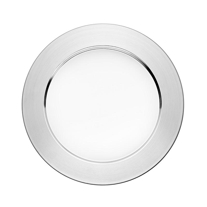 Iittala Sarpaneva Steel Plate 41 cm Set of Six by Timo Sarpaneva