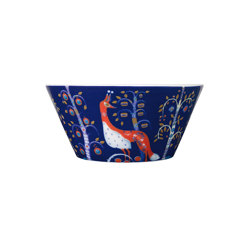 Iittala Taika Blue 0.6L Bowl –Set of Six by Klaus Haapaniemi Olson and Baker - Designer & Contemporary Sofas, Furniture - Olson and Baker showcases original designs from authentic, designer brands. Buy contemporary furniture, lighting, storage, sofas & chairs at Olson + Baker.
