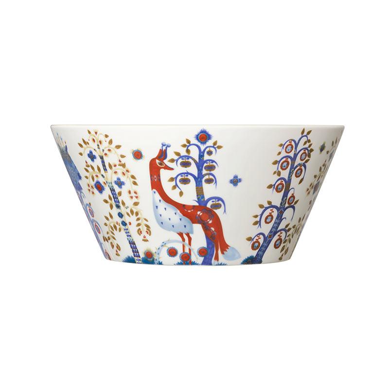 Iittala Taika White 2.8L Bowl by Klaus Haapaniemi