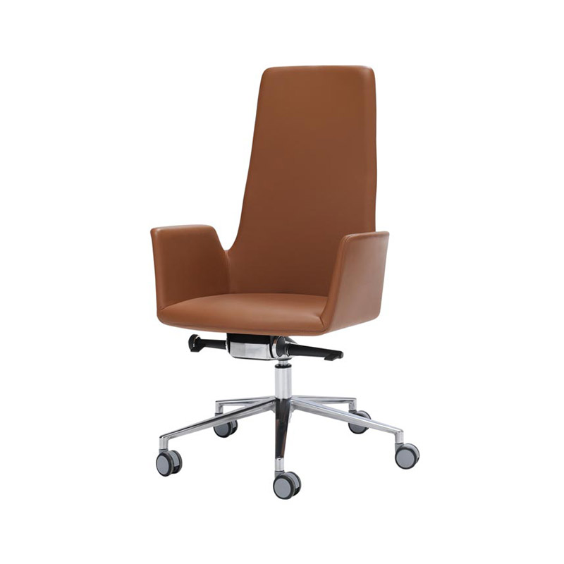 Inclass Altea XL Highback Armchair with Swivel Base on Castors by Jorge Pensi