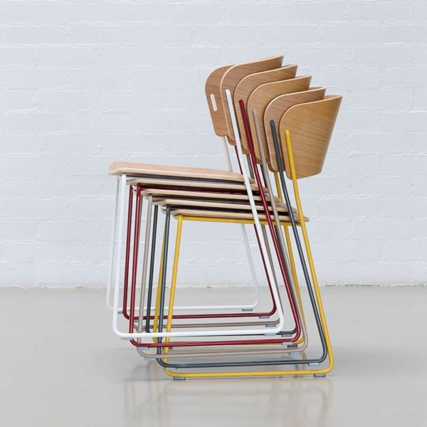 Arc Chair with Sled Base