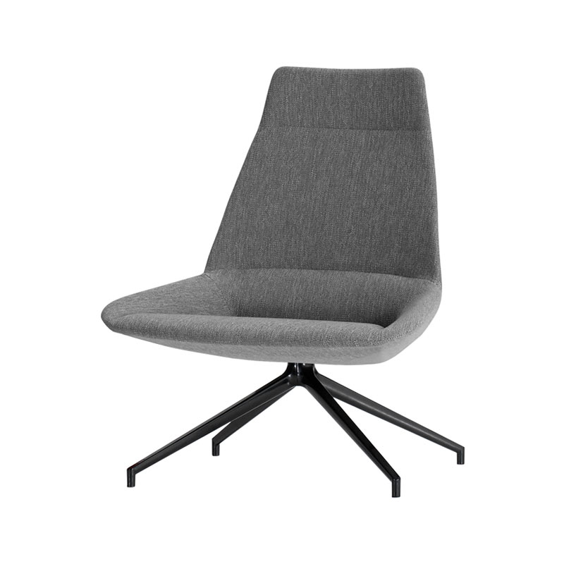 Inclass Dunas XL High Back with Trestle Swivel Base by Christophe Pillet