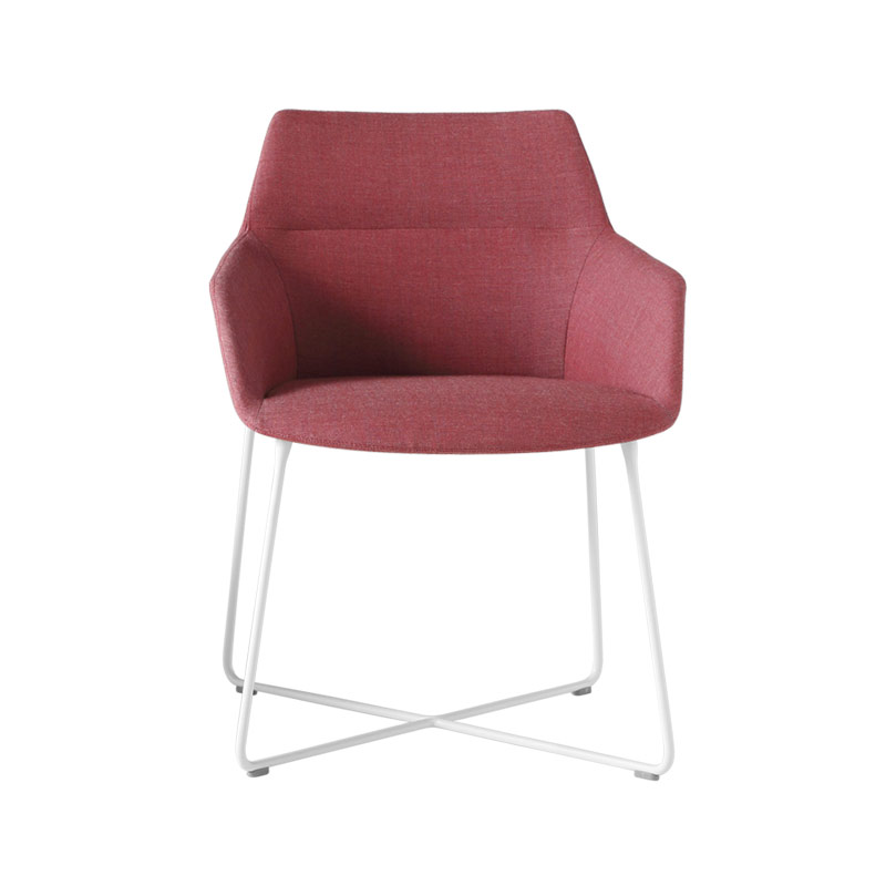 Inclass Dunas XS Armchair with Sled Base by Christophe Pillet Olson and Baker - Designer & Contemporary Sofas, Furniture - Olson and Baker showcases original designs from authentic, designer brands. Buy contemporary furniture, lighting, storage, sofas & chairs at Olson + Baker.