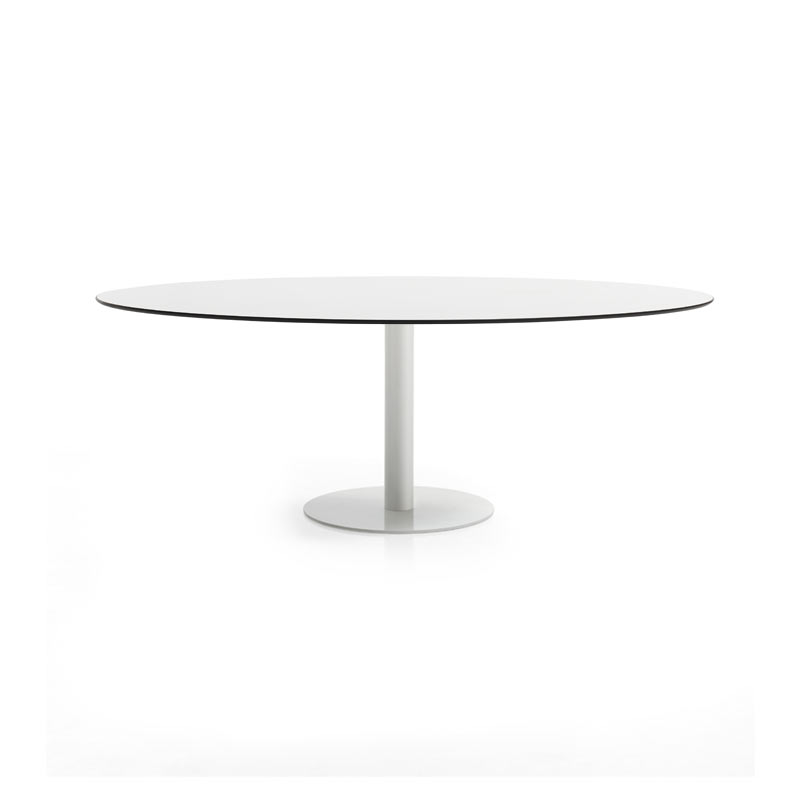 Inclass Flat Oval 240cm Table by Inclass Studio Olson and Baker - Designer & Contemporary Sofas, Furniture - Olson and Baker showcases original designs from authentic, designer brands. Buy contemporary furniture, lighting, storage, sofas & chairs at Olson + Baker.