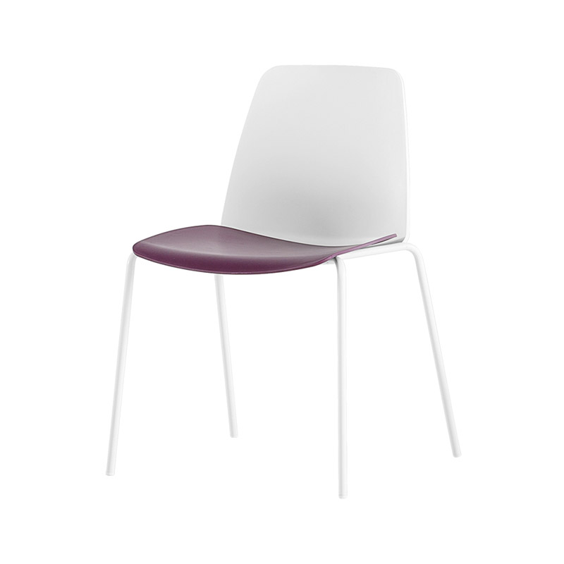 Inclass Unnia Chair with Four Leg Base by Simon Pengelly
