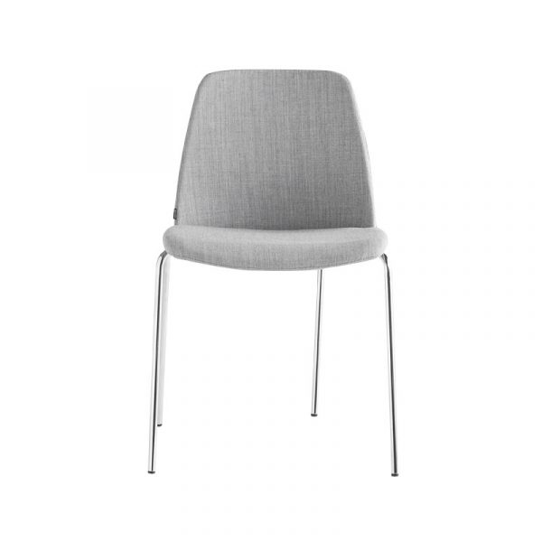 Inclass Unnia Upholstered Chair with Four Leg Base by Simon Pengelly