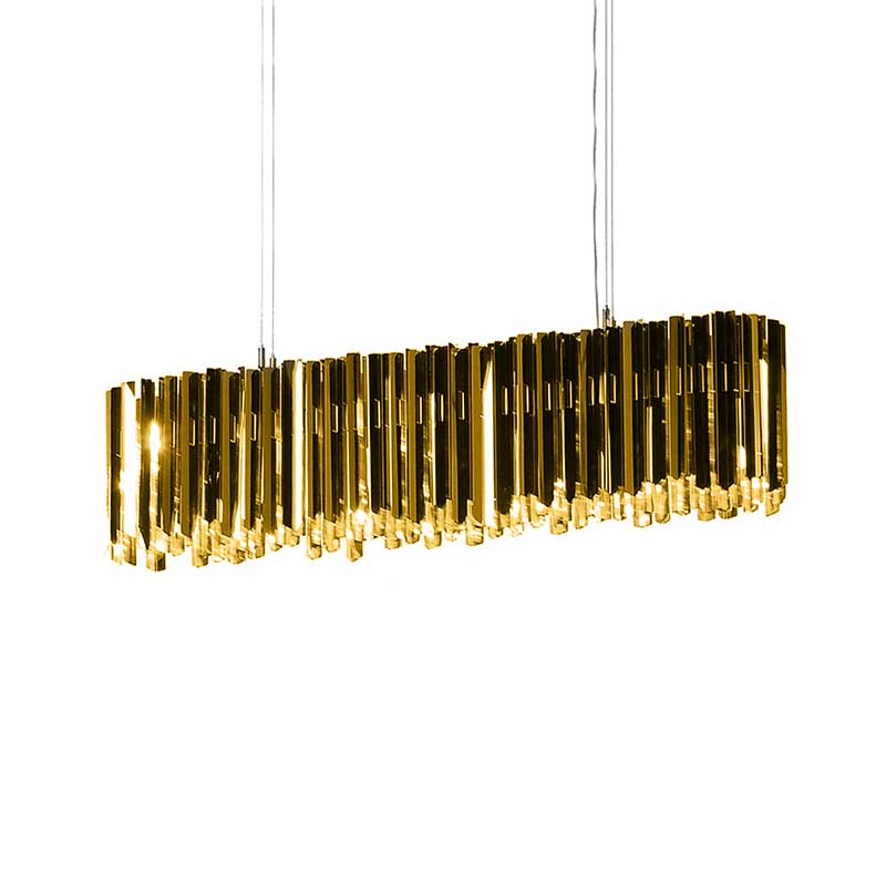 Innermost Facet Lozenge Chandelier by Tom Kirk