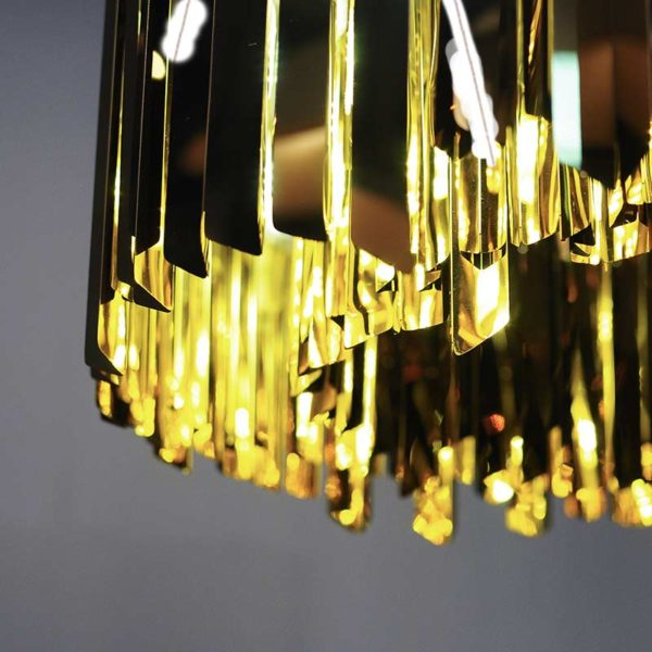 Facet Round Chandelier