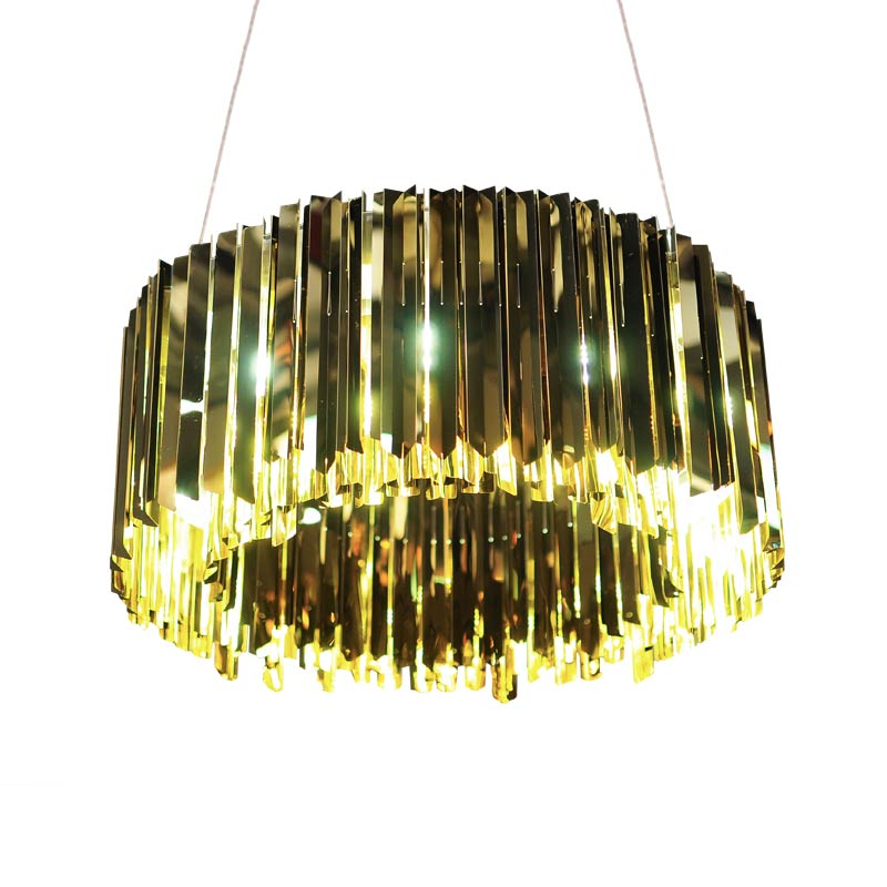 Innermost Facet Round Chandelier by Tom Kirk