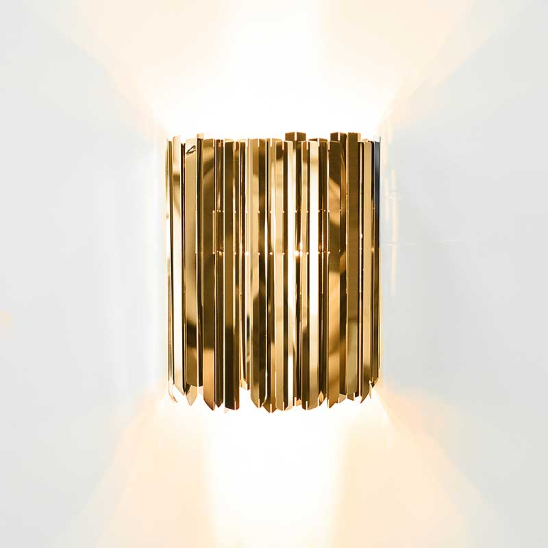 Innermost Facet Wall Light by Tom Kirk