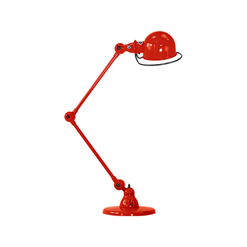 Jielde Loft D6440 Small Desk Lamp with Two Arms by Jean-Louis Domecq