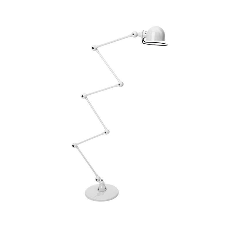 Jielde Loft D9406 Floor Lamp with Six Arms by Jean-Louis Domecq