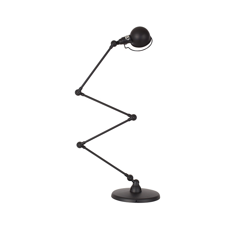 Jielde Signal SI433 Zig-Zag Desk Lamp with Four Arms by Jean-Louis Domecq