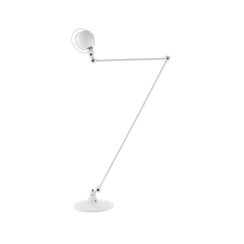 Jielde Signal SI833 Floor Lamp with Two Arms by Jean-Louis Domecq