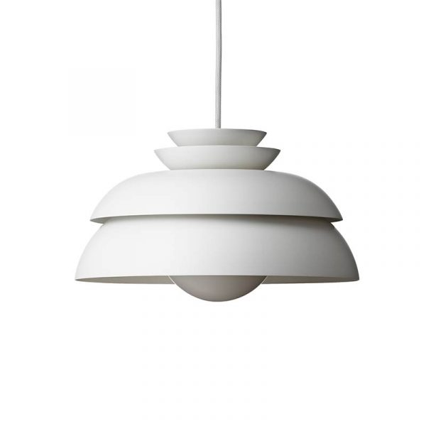 Fritz Hansen Concert Pendant Light by Jørn Utzon