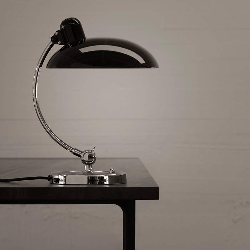 Lightyears-Kaiser-Idell-Luxus-Table-Lamp-by-Christian-Dell-1 Olson and Baker - Designer & Contemporary Sofas, Furniture - Olson and Baker showcases original designs from authentic, designer brands. Buy contemporary furniture, lighting, storage, sofas & chairs at Olson + Baker.