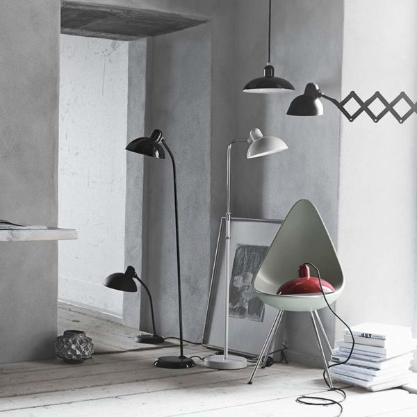 Kaiser Idell Wall Lamp with Extendable Swivel Arm