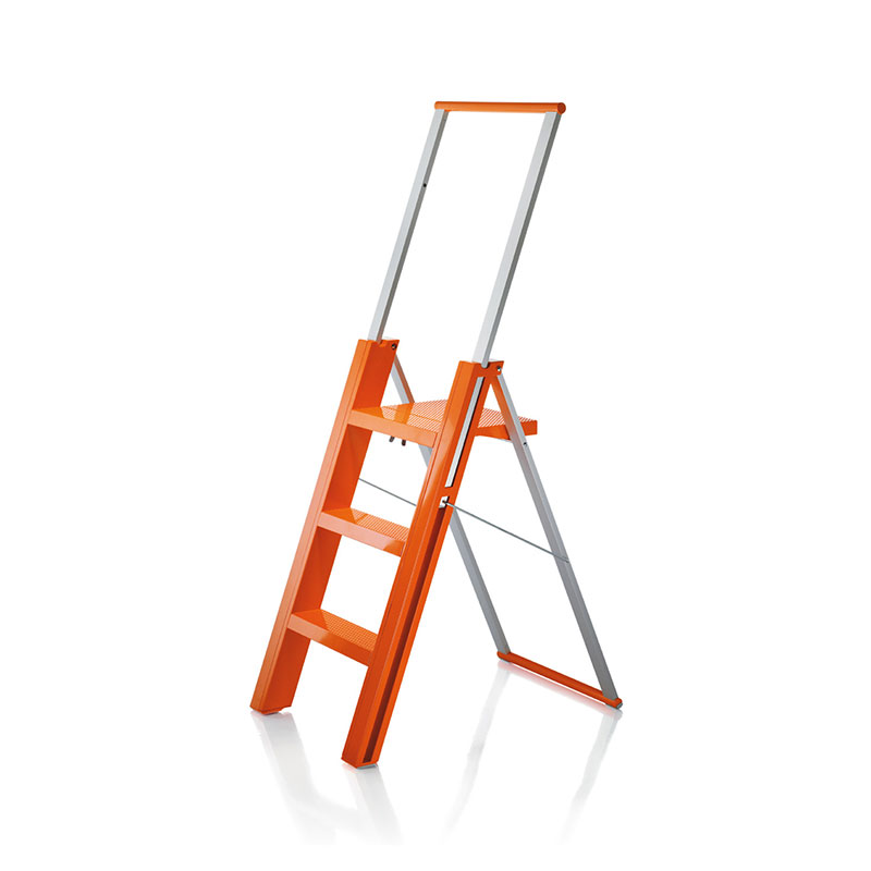 Magis Flo' Folding Step Ladder by Marcello Ziliani Olson and Baker - Designer & Contemporary Sofas, Furniture - Olson and Baker showcases original designs from authentic, designer brands. Buy contemporary furniture, lighting, storage, sofas & chairs at Olson + Baker.