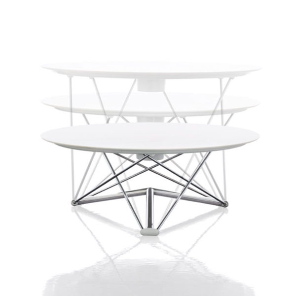 LEM Ø100cm Adjustable Table