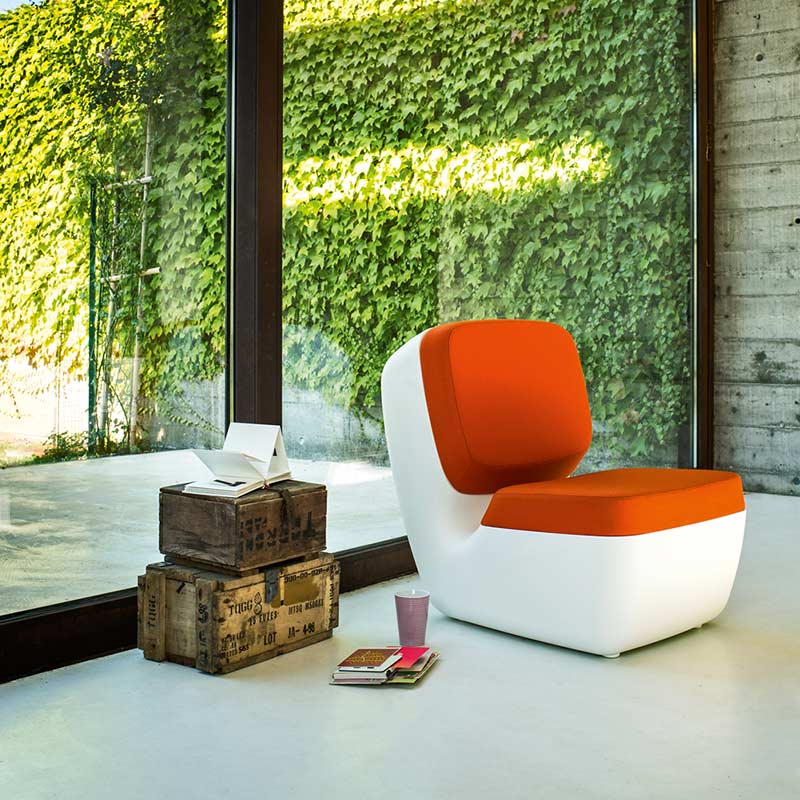Magis-Nimrod-Lowchair-by-Marc-Newson-1 Olson and Baker - Designer & Contemporary Sofas, Furniture - Olson and Baker showcases original designs from authentic, designer brands. Buy contemporary furniture, lighting, storage, sofas & chairs at Olson + Baker.