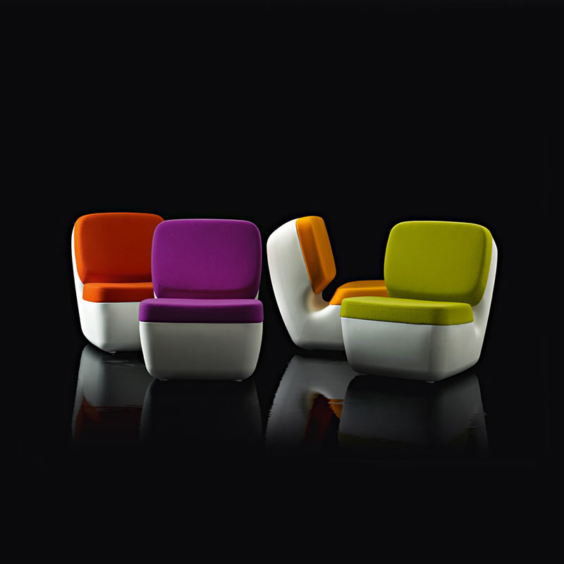 Magis-Nimrod-Lowchair-by-Marc-Newson-2 Olson and Baker - Designer & Contemporary Sofas, Furniture - Olson and Baker showcases original designs from authentic, designer brands. Buy contemporary furniture, lighting, storage, sofas & chairs at Olson + Baker.