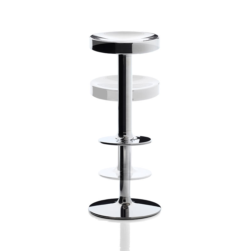 Magis S.S.S.S Adjustable Bar Stool by Philippe Starck, Luigi Barei