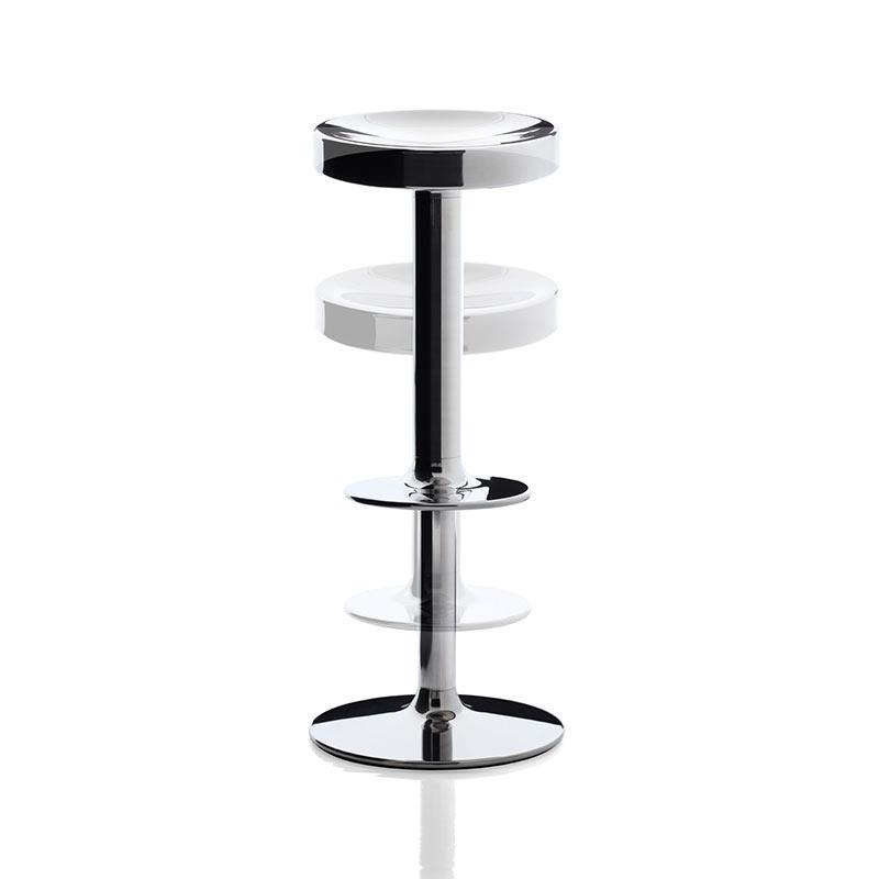 Magis S.S.S.S Adjustable Bar Stool by Philippe Starck, Luigi Barei