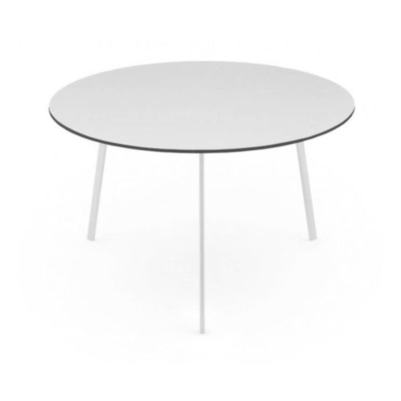 Magis Striped Round Dining Table by Ronan & Erwan Bouroullec Olson and Baker - Designer & Contemporary Sofas, Furniture - Olson and Baker showcases original designs from authentic, designer brands. Buy contemporary furniture, lighting, storage, sofas & chairs at Olson + Baker.