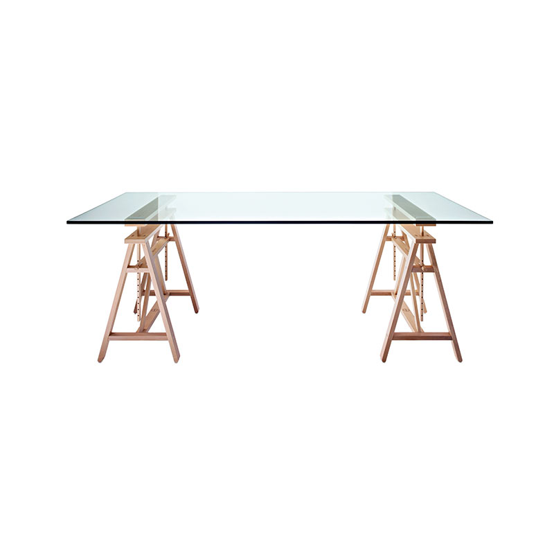 Magis Teatro Trestle 200x90cm Adjustable Table by Marc Berthier