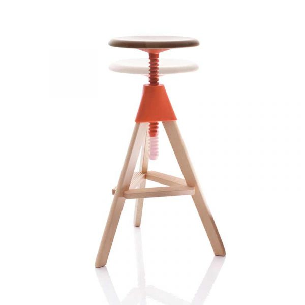 Magis Tom & Jerry Adjustable Bar Stool - Wild Bunch by Konstantin Grcic